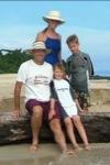 Jason, Kim, Cayman, Kendall travel blog