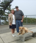 Doug and Susan and Tucker, the golden retriever travel blog