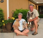 Steve and Kathleen Campbell, Rose, Bailey and Martha travel blog