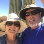 Jeanne, Roger, Mulligan, Bo, and Kiki travel blog